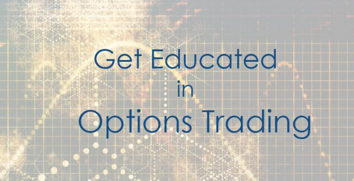 Get Educated in Options To Conquer The Markets