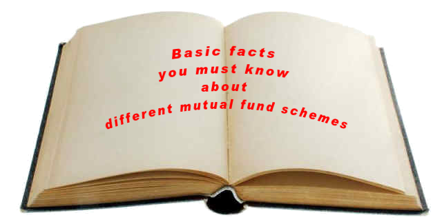 Types of mutual fund schemes