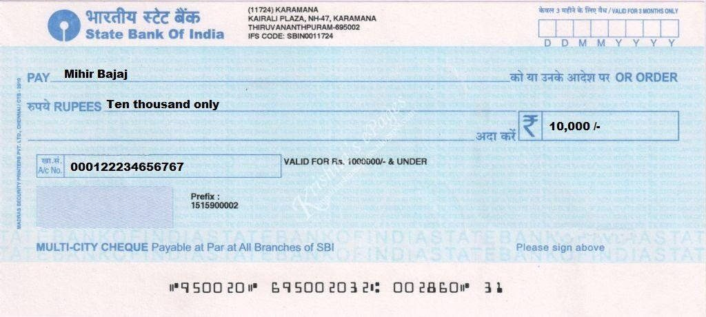 Dishonour of Cheque – Section 138 of the Negotiable instruments Act
