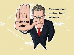 Close-ended mutual fund