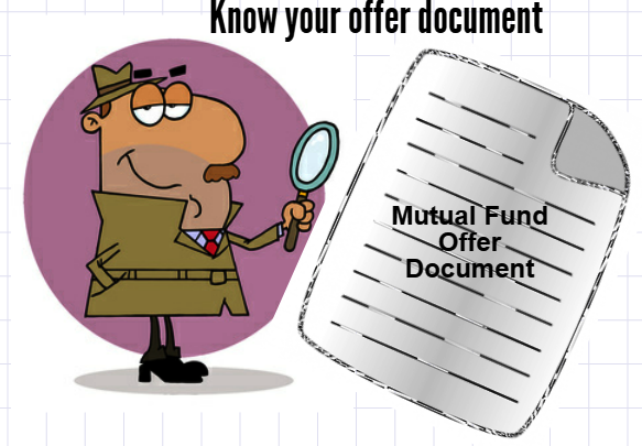 Mutual fund offer document