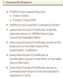PAN_documents required