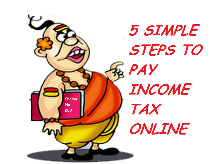 5 simple steps to pay income tax online