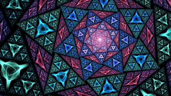 Fractals are endless patterns that keep repeating its structure no matter how minutely they are observed.