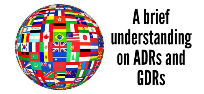 All about ADR and GDR