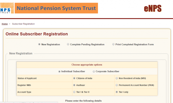 National pension system (nps) to help you sustain during the.