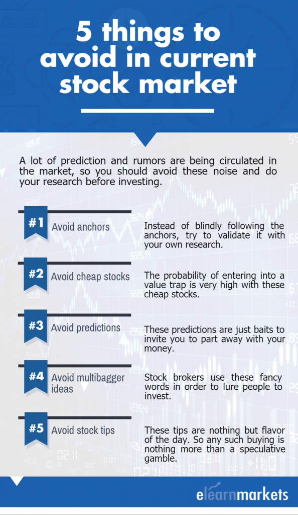 5 things to avoid in current stock market