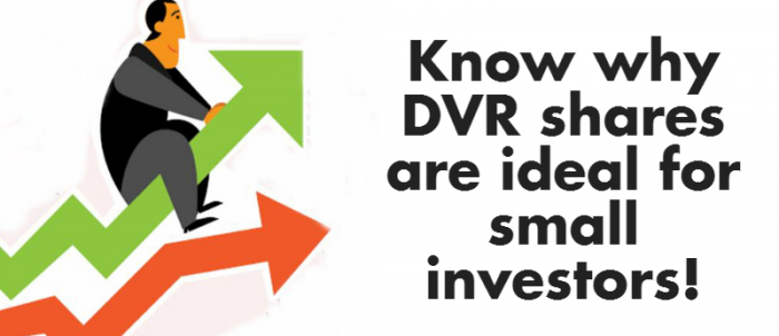 How an Equity Share differs from its DVR Shares?