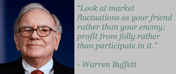 Warren Buffett on stock market