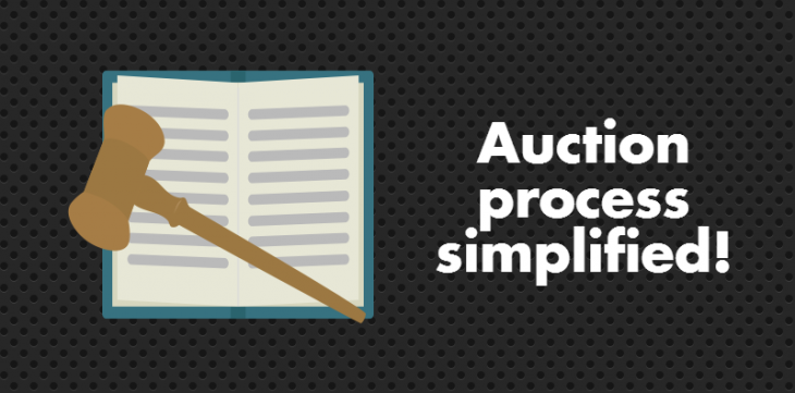Auction process simplified