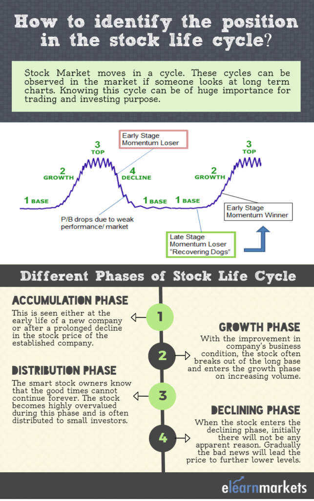 stock life cycle phases