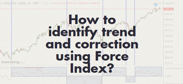Identifying trend and correction using Force Index
