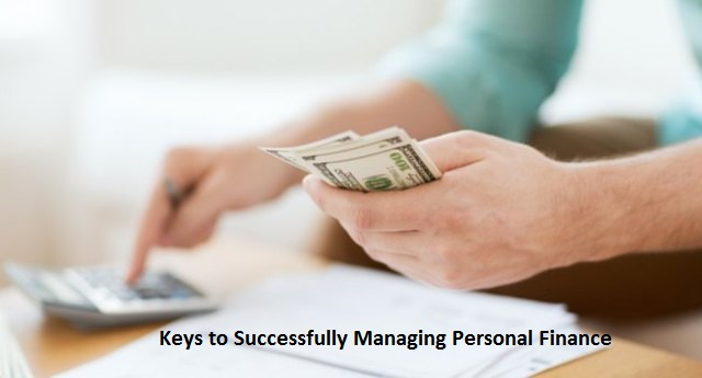keys to managing personal finance