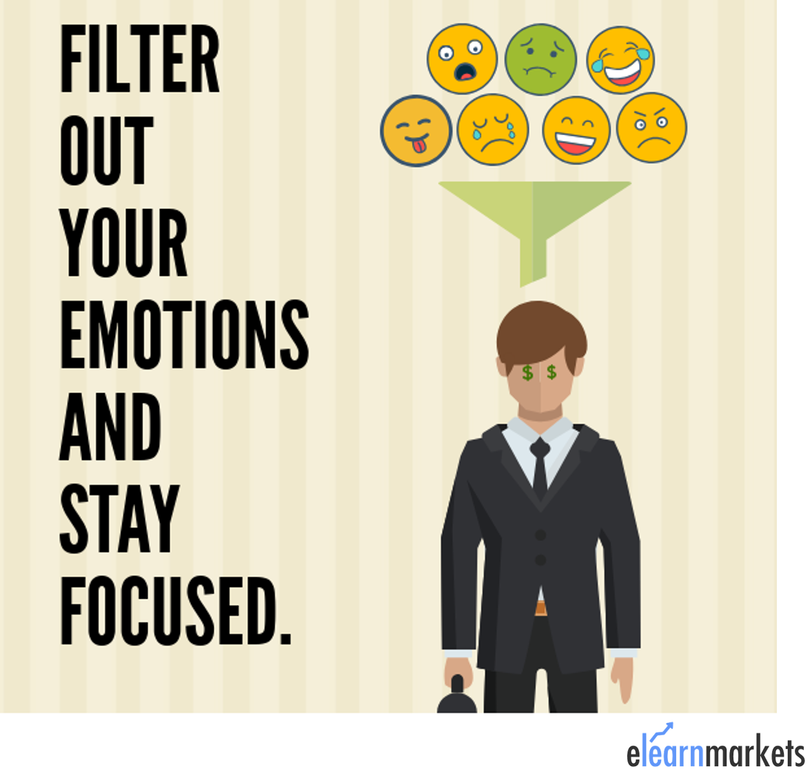 keep emotions out