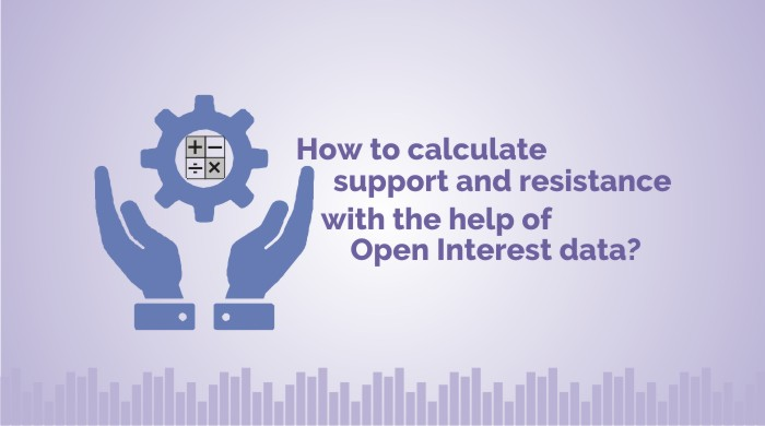 calculate support and resistance with the help of Open Interest data