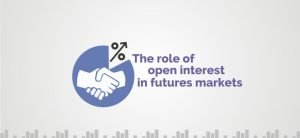 What is the role of open interest in futures markets?