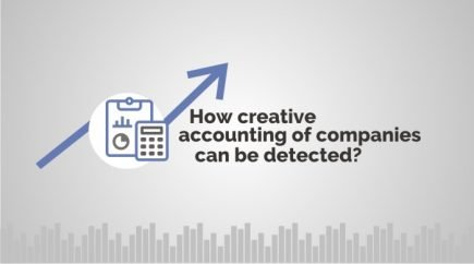 How creative accounting of companies can be detected?