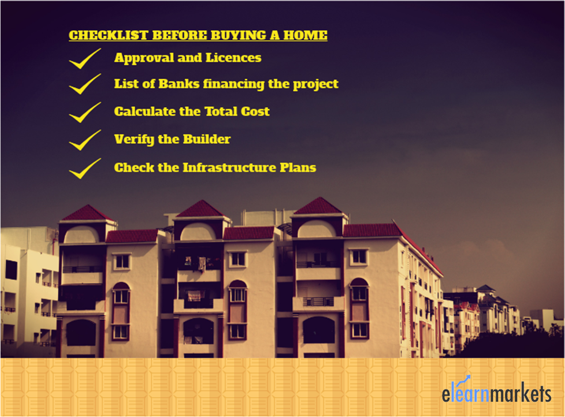 checklist for buying home