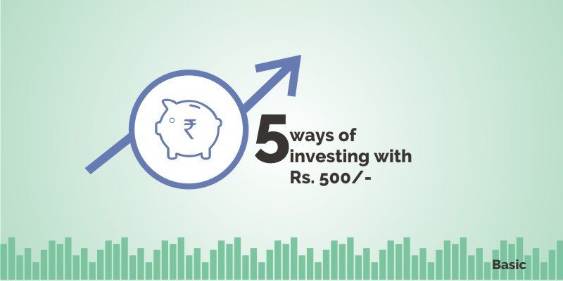 investing with rs 500