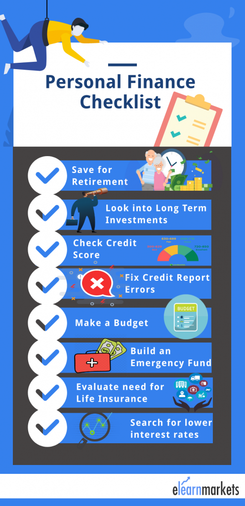 personal finance infograph