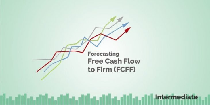 Forcasting Free Cash Flow to Firm (FCFF)