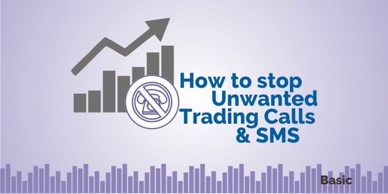 unwanted trading calls sms