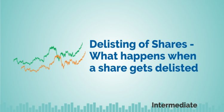 what happens in delisting of shares