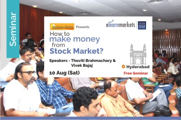 How to make money from Stock Markets - Hyderabad