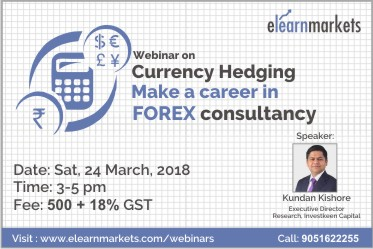 Currency hedging - Make a career in FOREX consultancy