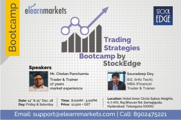 Bootcamp in Hyderabad on 14 Dec and 15 Dec 2018